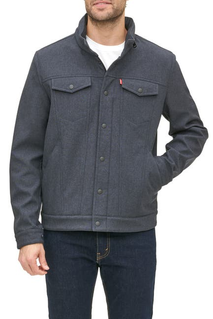 Image of Levi's High Neck Commuter Jacket
