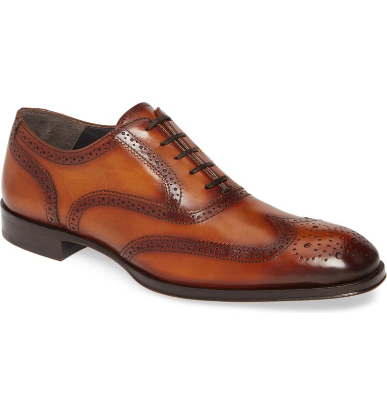 TO BOOT NEW YORK Timmons Wingtip, Main, color, BROWN
