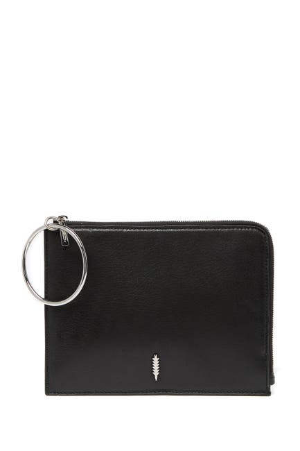 Image of THACKER Gable Leather O-Ring Clutch