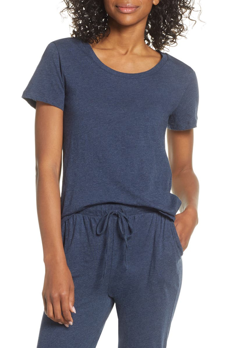 PAPINELLE High/Low Lounge Tee, Main, color, 400