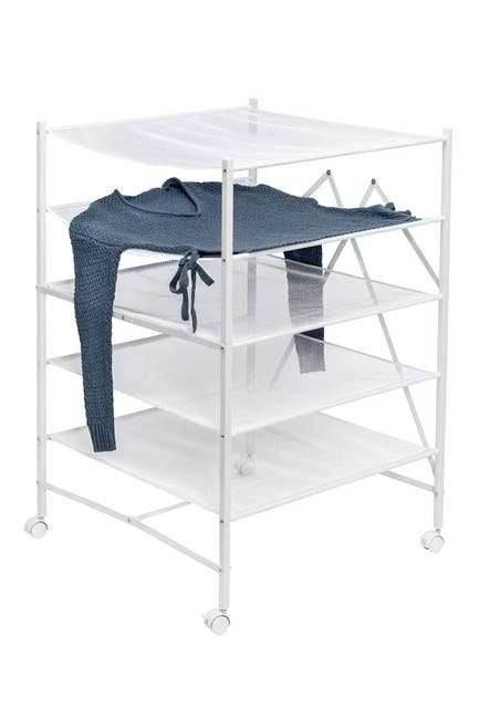 Image of Honey-Can-Do Foldable Mesh 5-Tier Drying Rack
