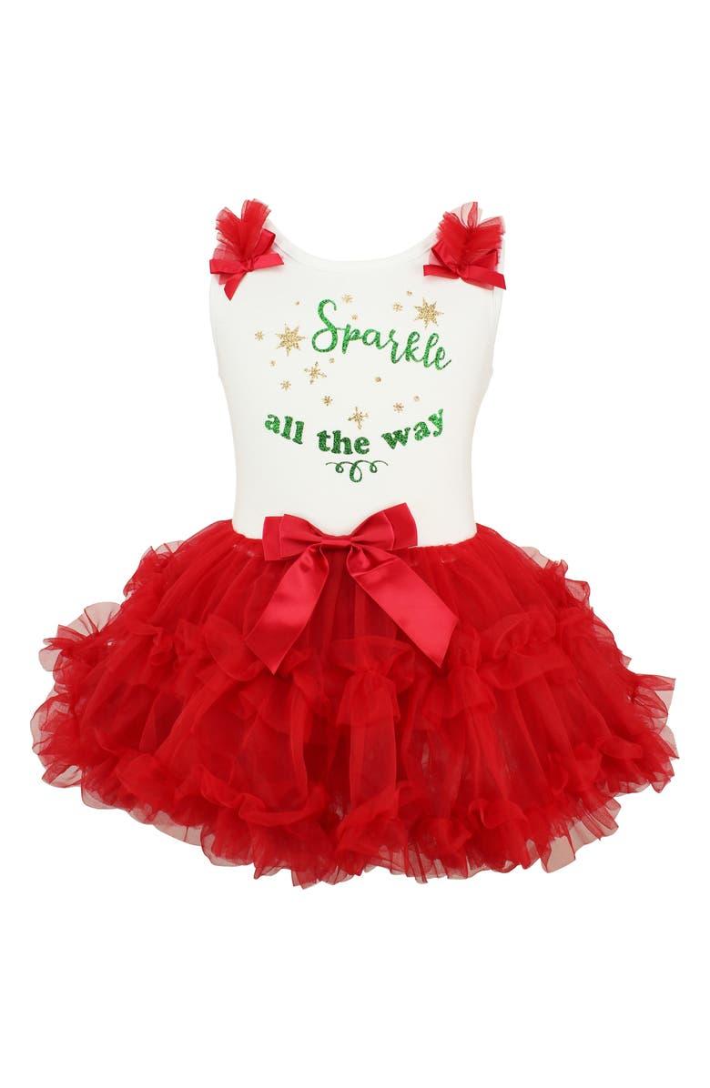 POPATU Sparkle All the Way Tutu Dress, Main, color, 630