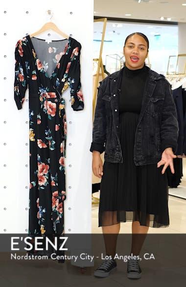 Meadow Dream Wrap Maxi Dress, sales video thumbnail