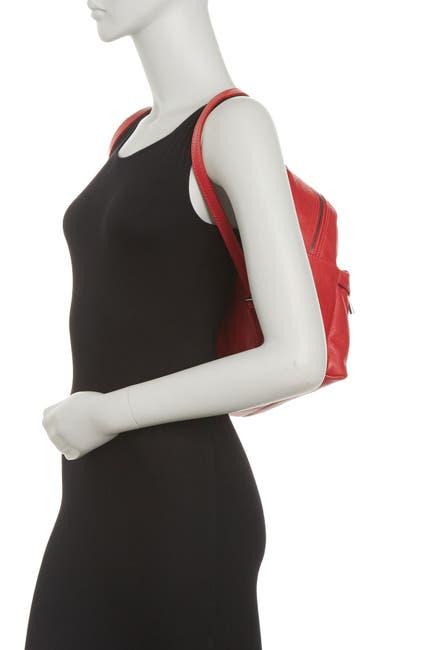 Image of Massimo Castelli Leather Backpack