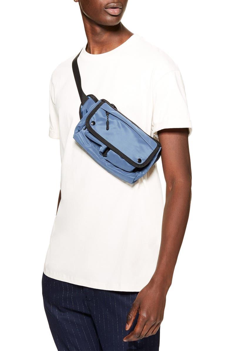 TOPMAN Oversize Fit Roller T-Shirt, Main, color, 250
