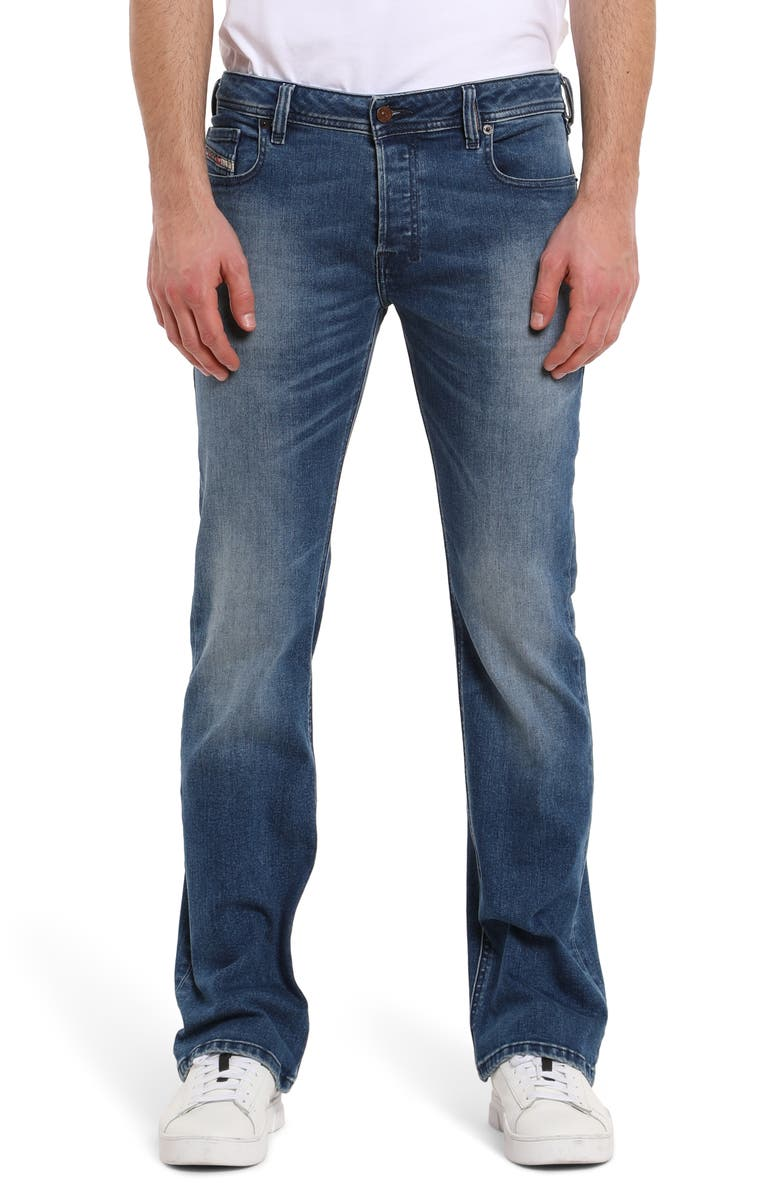 DIESEL<SUP>®</SUP> Zatiny Bootcut Jeans, Main, color, MED BLUE