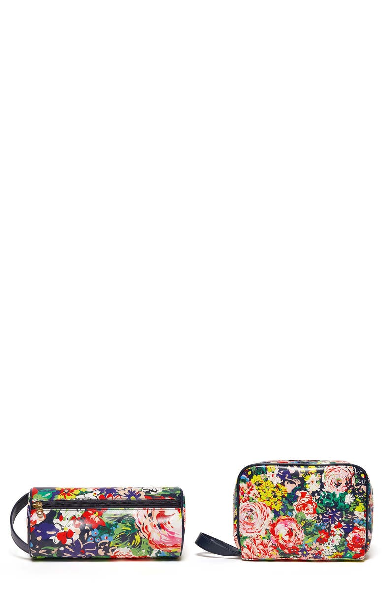 BAN.DO Flower Shop 2-Piece Cosmetic Case Travel Set, Main, color, 400