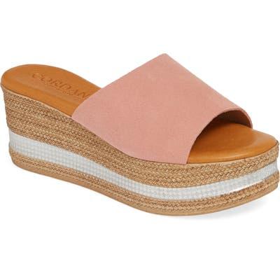 Cordani Barbara Wedge Slide Sandal - Pink
