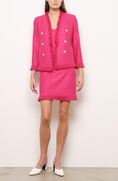 Poppy Novelty Textured Knit Jacket, video thumbnail