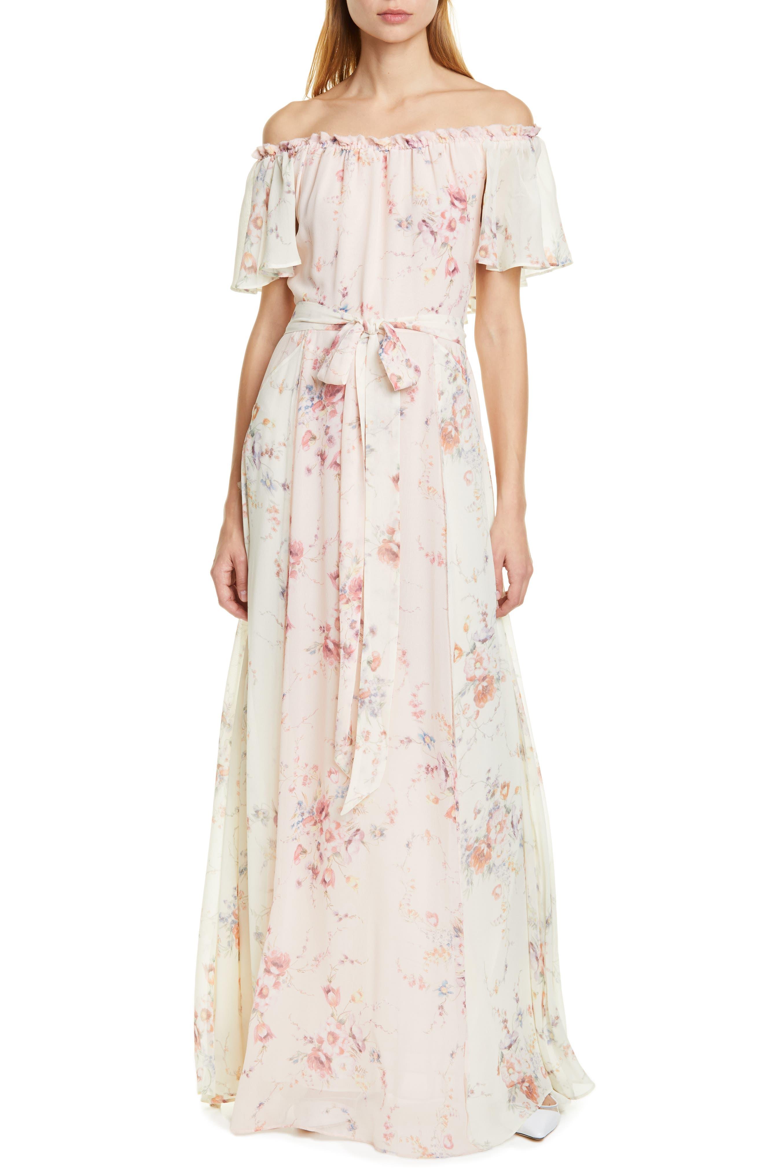 Loveshackfancy Evelyn Maxi Dress, Pink