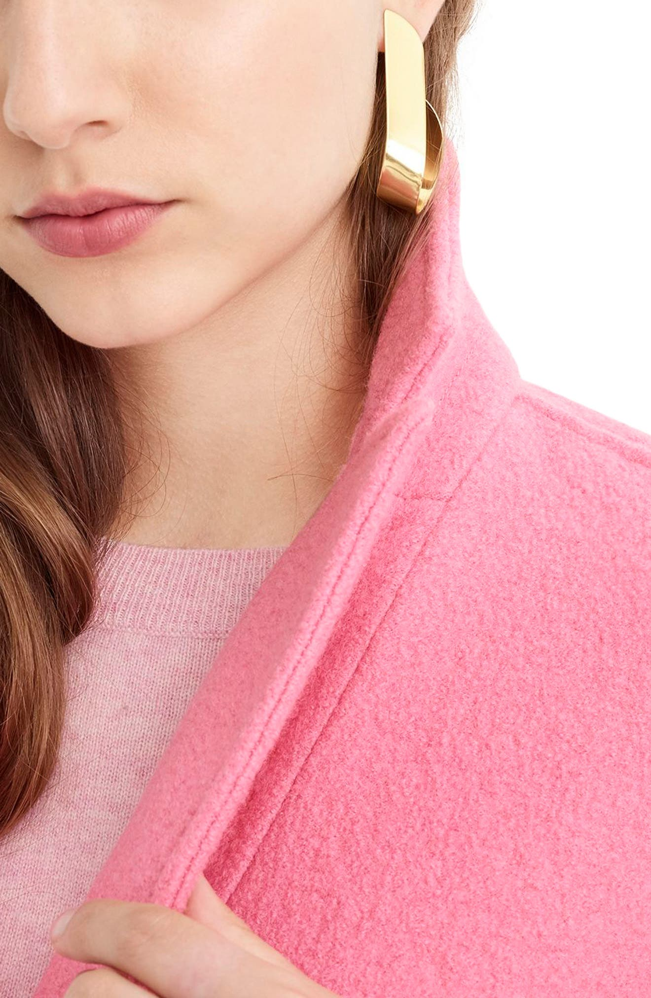 ,                             Daphne Boiled Wool Topcoat,                             Alternate thumbnail 50, color,                             650