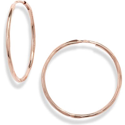 Karen London Antony Textured Hoop Earrings