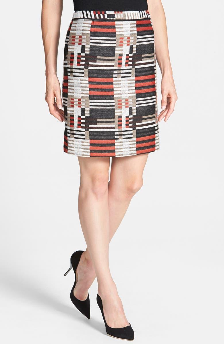BOSS 'Maluka' Skirt, Main, color, BAUHAUS PRINT
