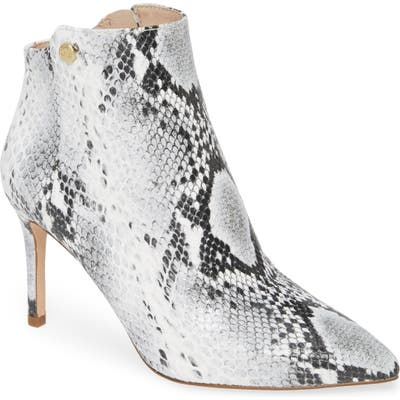 Louise Et Cie Sid Pointy Toe Bootie- Grey (Nordstrom Exclusive)