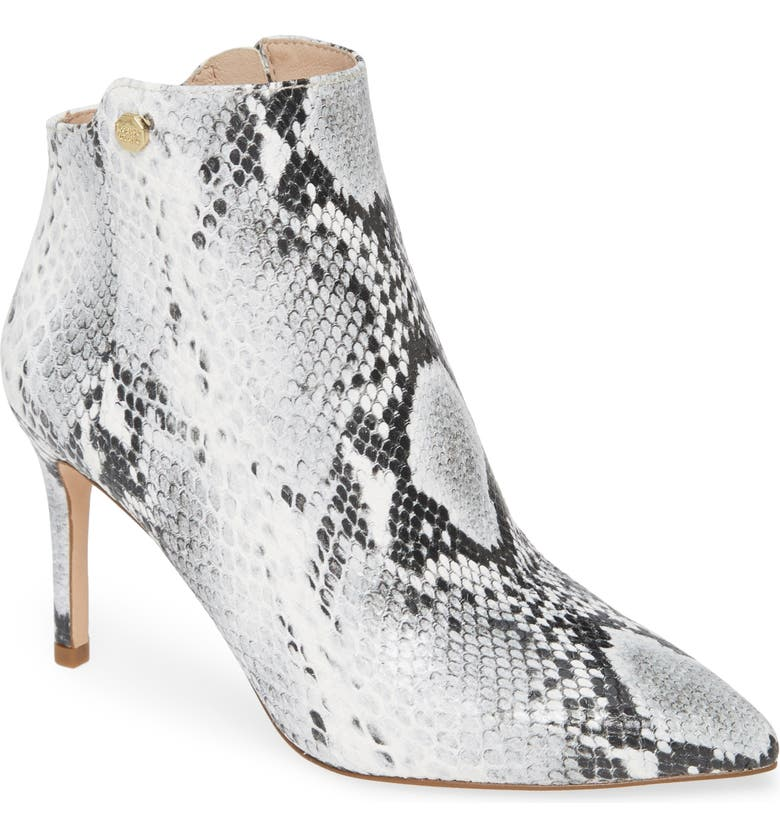 LOUISE ET CIE Sid Pointy Toe Bootie, Main, color, 020