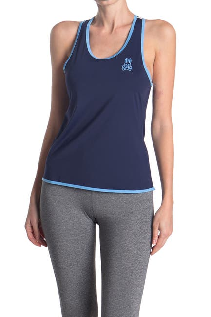 Image of Psycho Bunny Sports Halter Tank