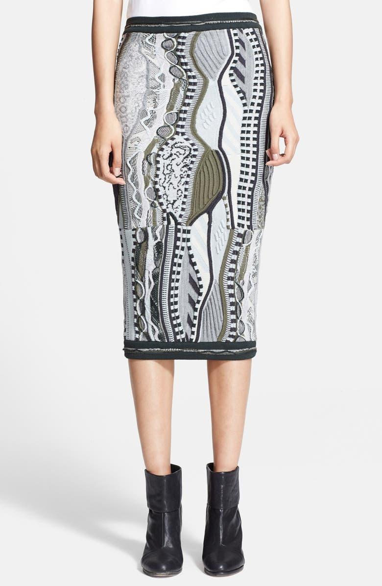 x Coogi Knit Skirt