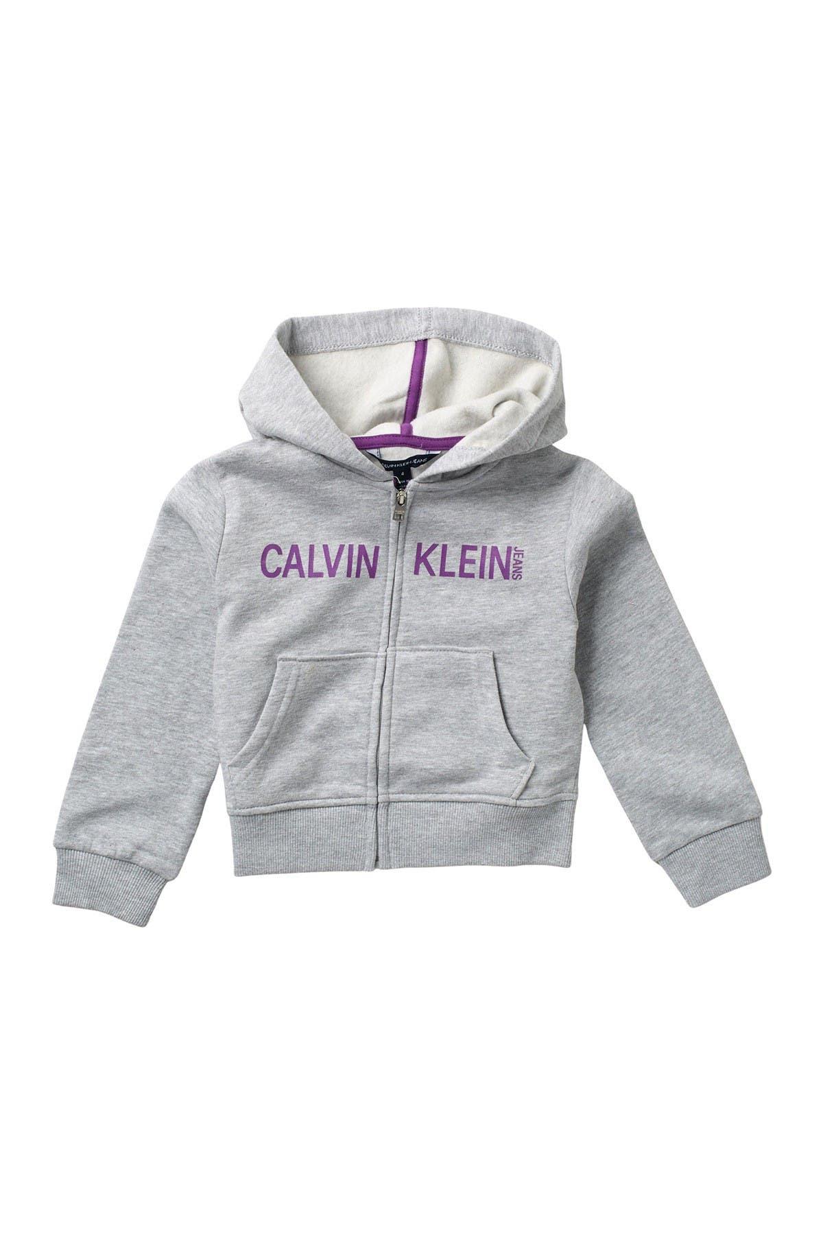 Image of Calvin Klein Zip Up CKJ Hoodie