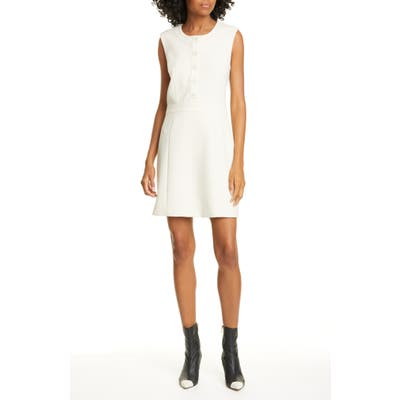 Veronica Beard Julie Sheath Dress, Ivory