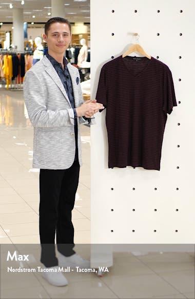 Kenaston V-Neck Stripe T-Shirt, sales video thumbnail