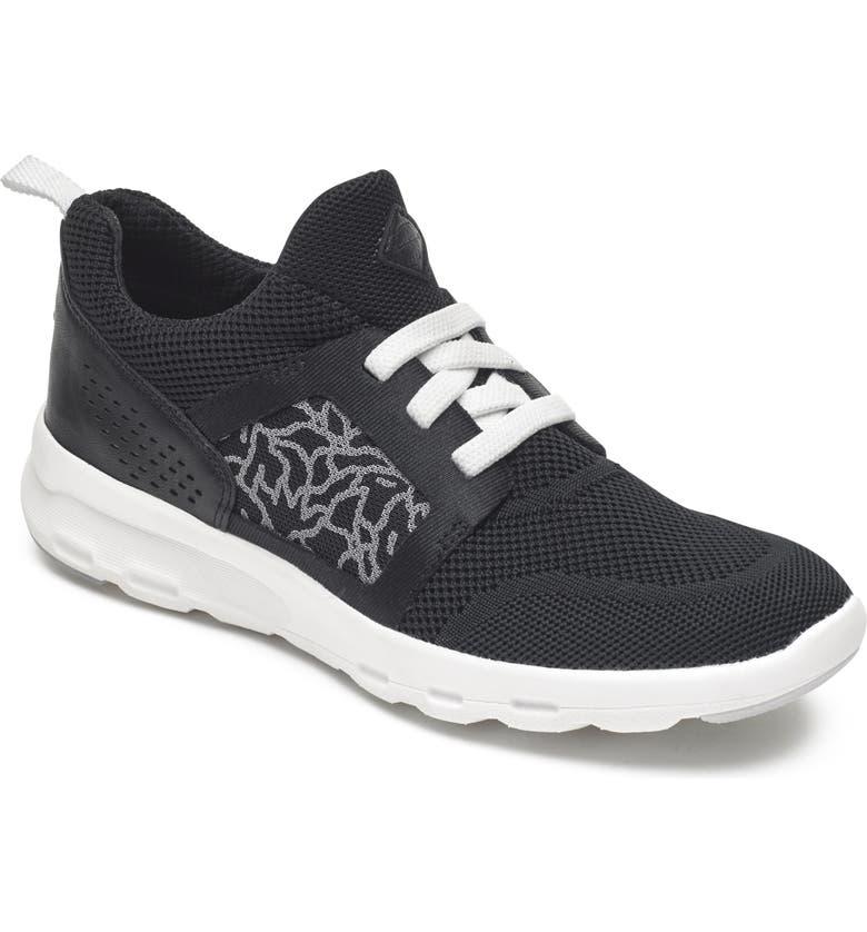 ROCKPORT Knit Walking Sneaker, Main, color, 001