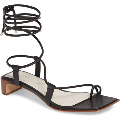 Rag & Bone Cindy Lace-Up Sandal - Black