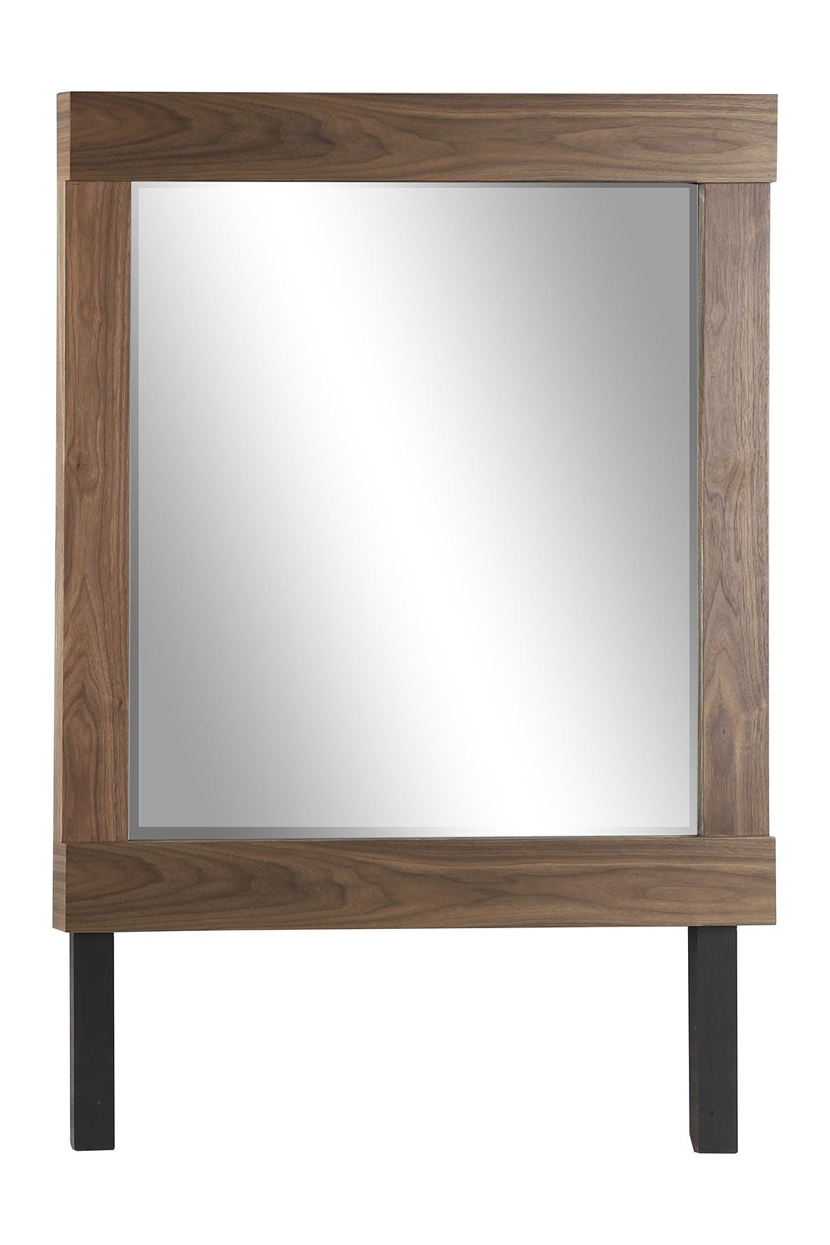 Venus Williams Collection Contemporary Large Square Natural Wood Dresser Mirror Nordstrom Rack