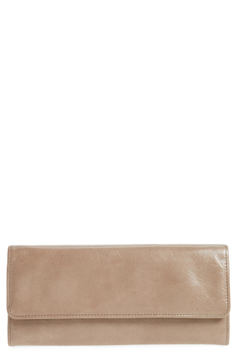 HOBO 'Sadie' Leather Wallet, Main, color, 020