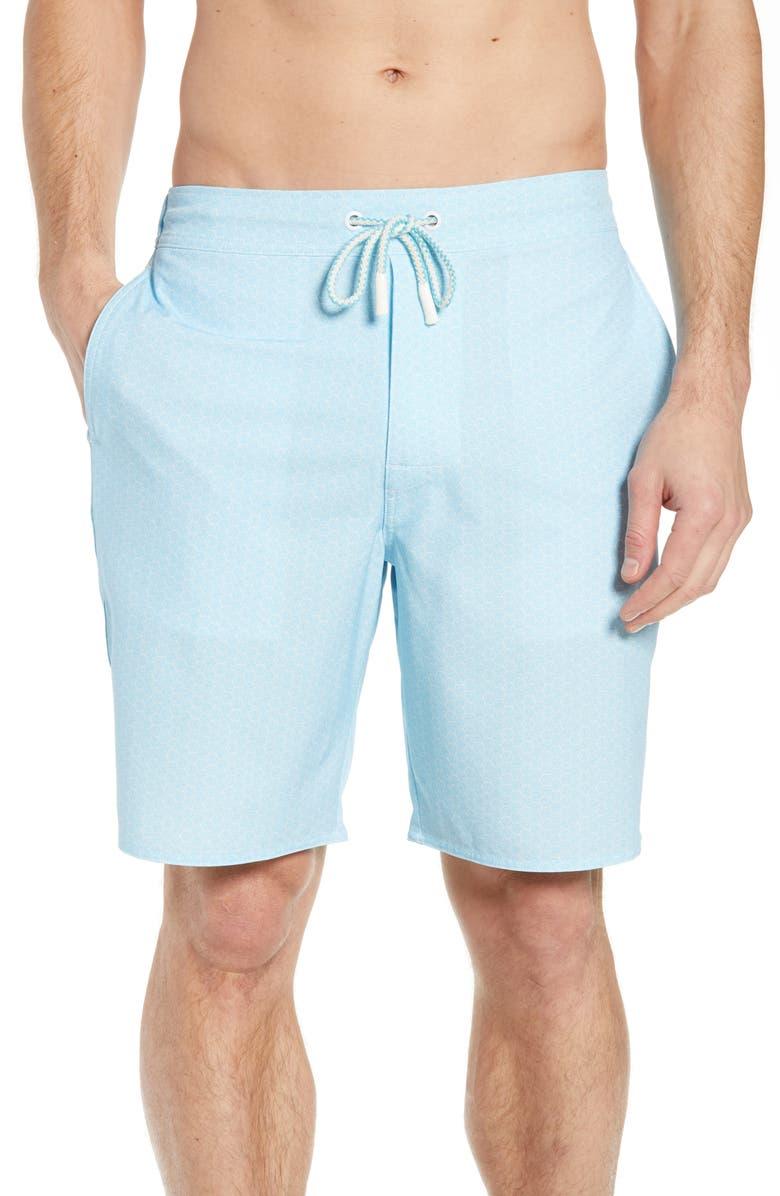 JOHNNIE-O Folly Regular Fit Board Shorts, Main, color, 497