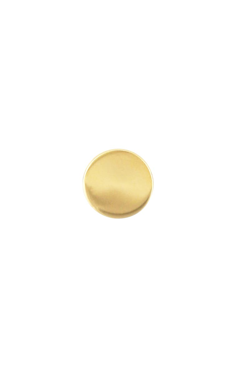 BONY LEVY 14K Gold Circle Stud Earring, Main, color, YELLOW GOLD