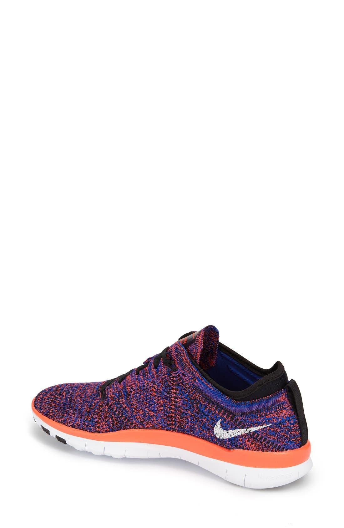 ,                             'Free Flyknit 5.0 TR' Training Shoe,                             Alternate thumbnail 6, color,                             002
