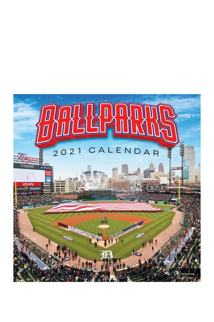 Image of TF Publishing 2021 Ballparks Wall Calendar