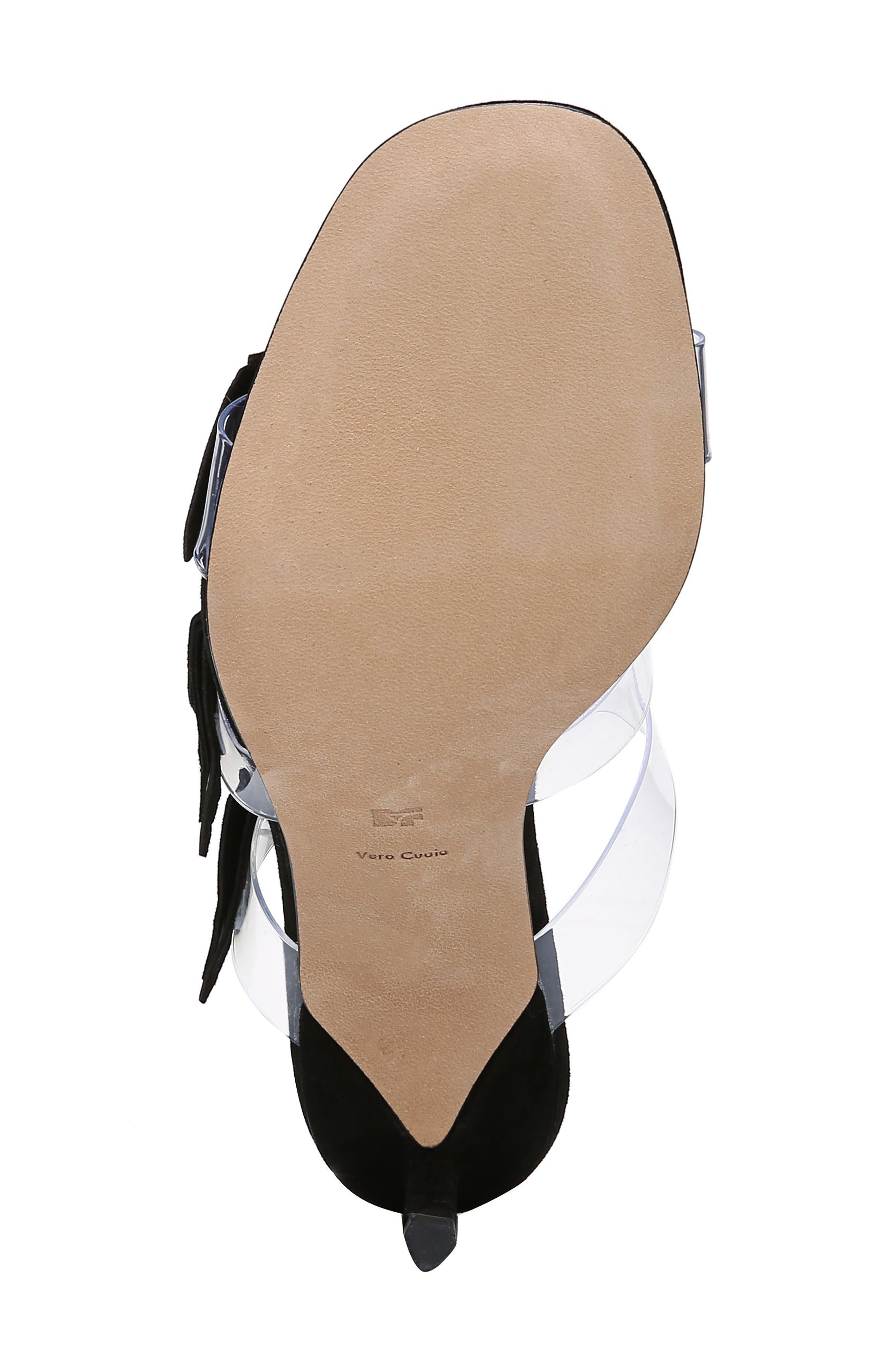 ,                             Amari Triple Strap Sandal,                             Alternate thumbnail 6, color,                             BLACK