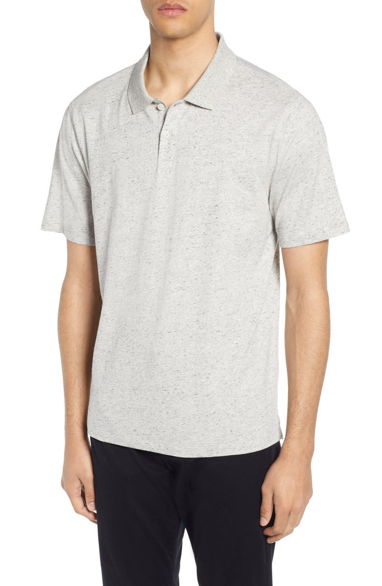 VINCE Neps Slim Fit Polo, Main, color, 061
