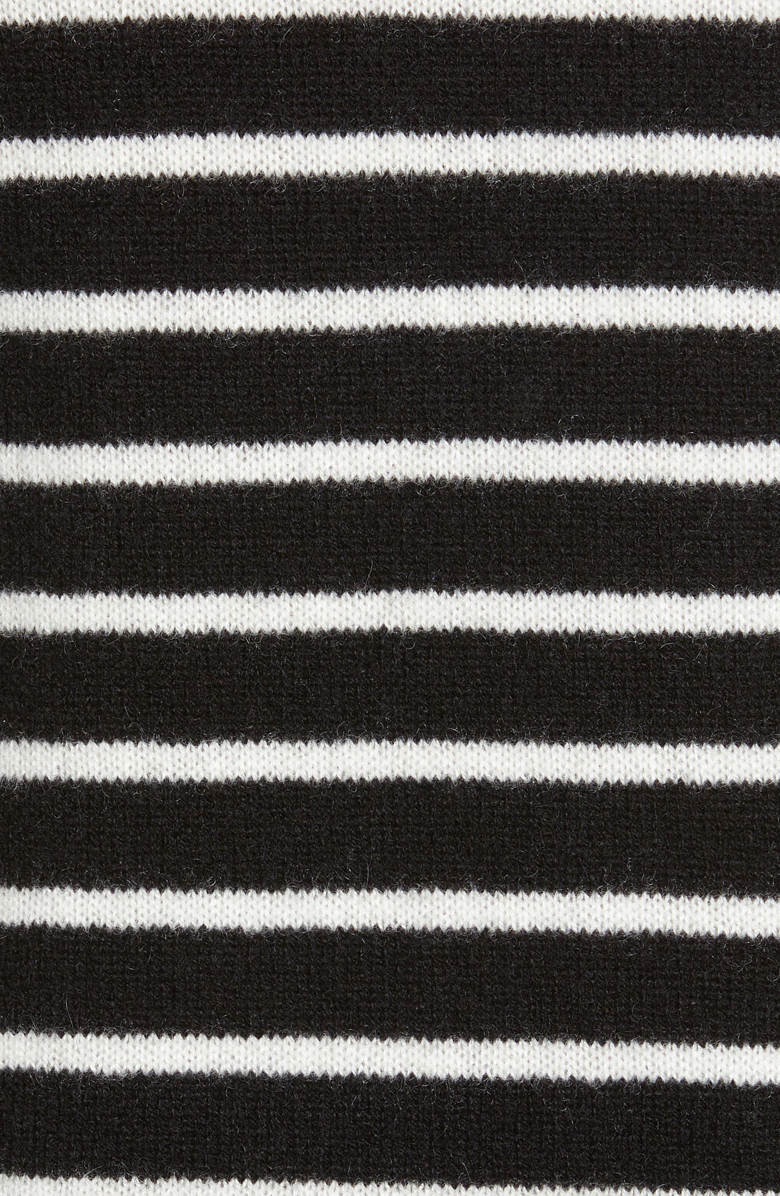 ,                             Crewneck Cashmere Sweater,                             Alternate thumbnail 5, color,                             002