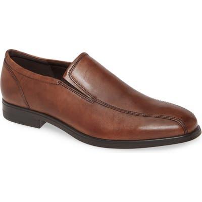 Ecco Queenstown Venetian Loafer, Brown