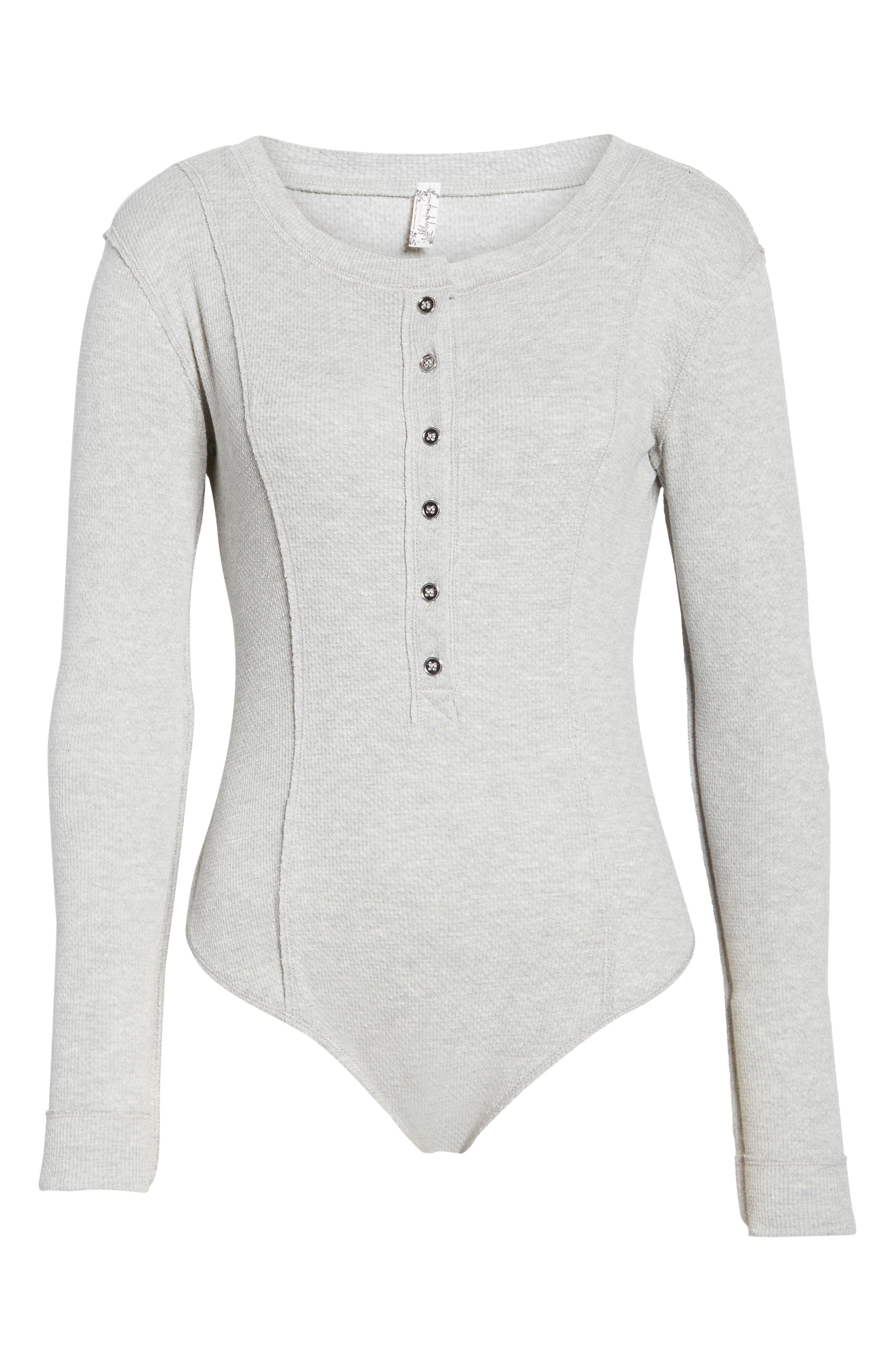 ,                             Intimately FP Frankie Henley Thong Bodysuit,                             Alternate thumbnail 12, color,                             030