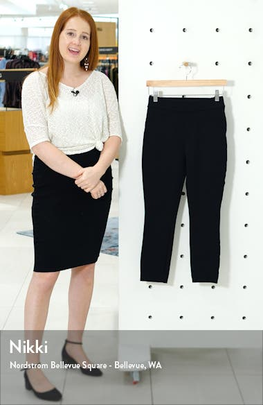 The Perfect Black Pant - Back Seam Skinny Pants, sales video thumbnail