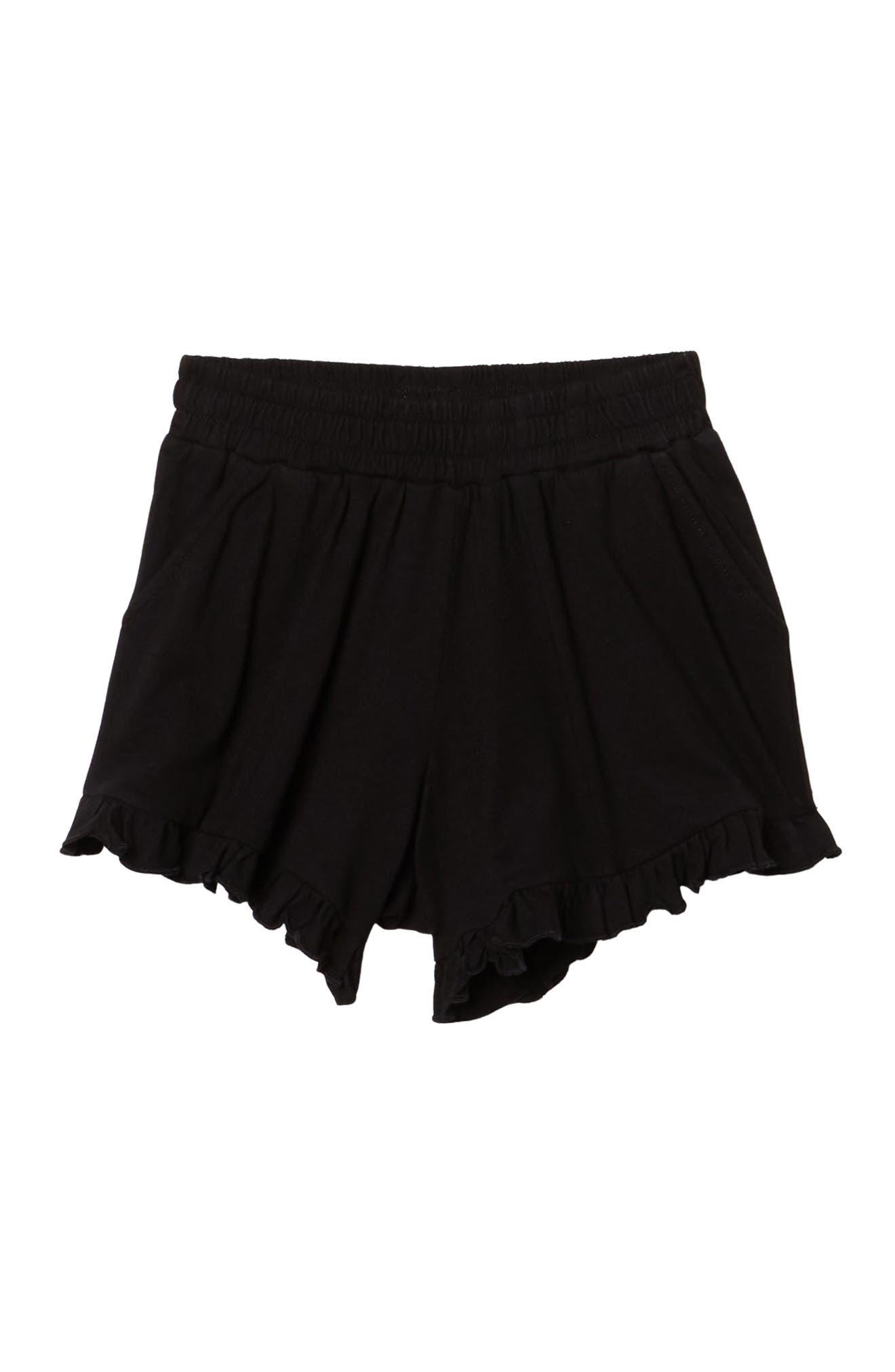 Image of Melrose and Market Ruffle Knit Shorts