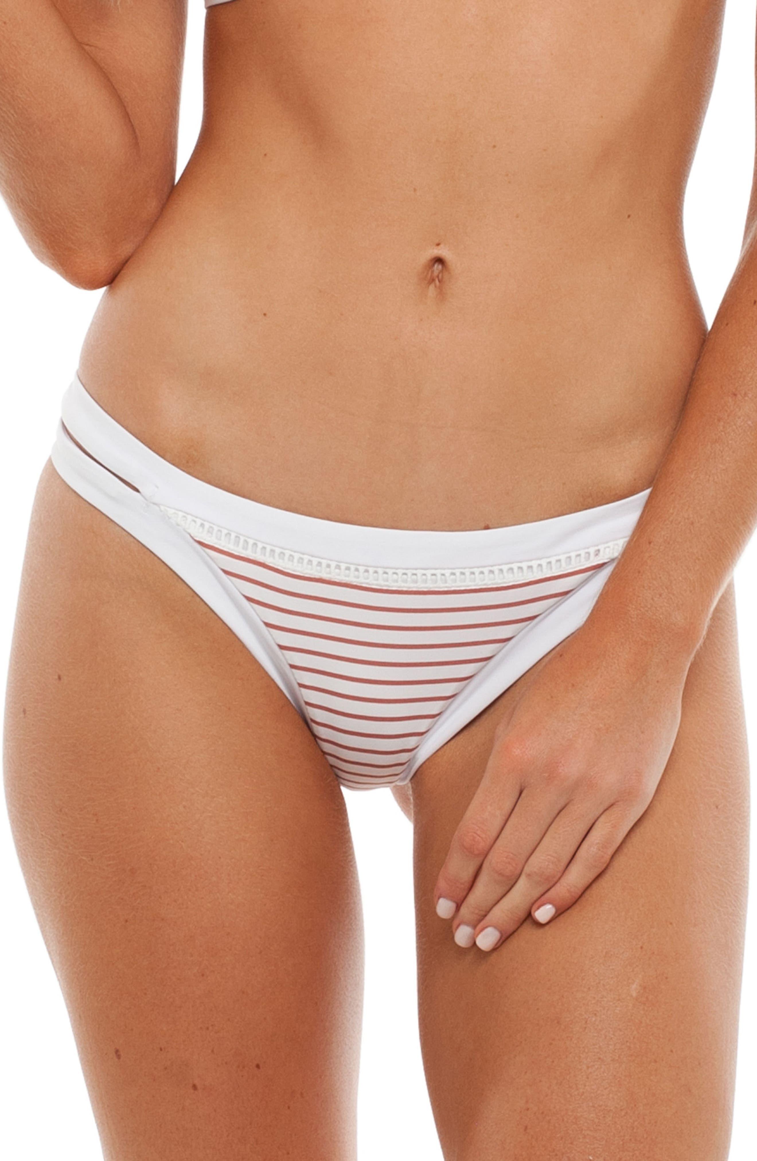 Rhythm Sunkissed Itsy Bikini Bottoms, Pink