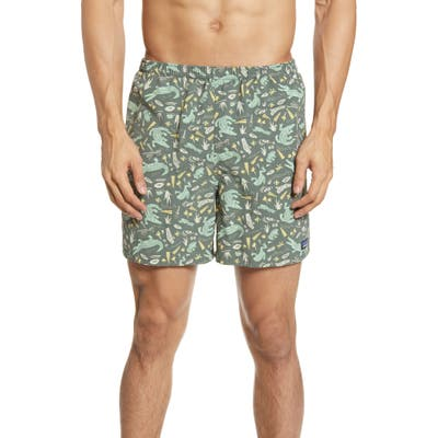 Patagonia Baggies 5-Inch Swim Trunks, Green