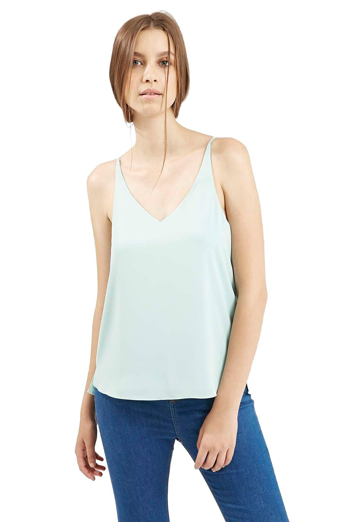 ,                             Strappy V-Neck Camisole,                             Main thumbnail 29, color,                             440