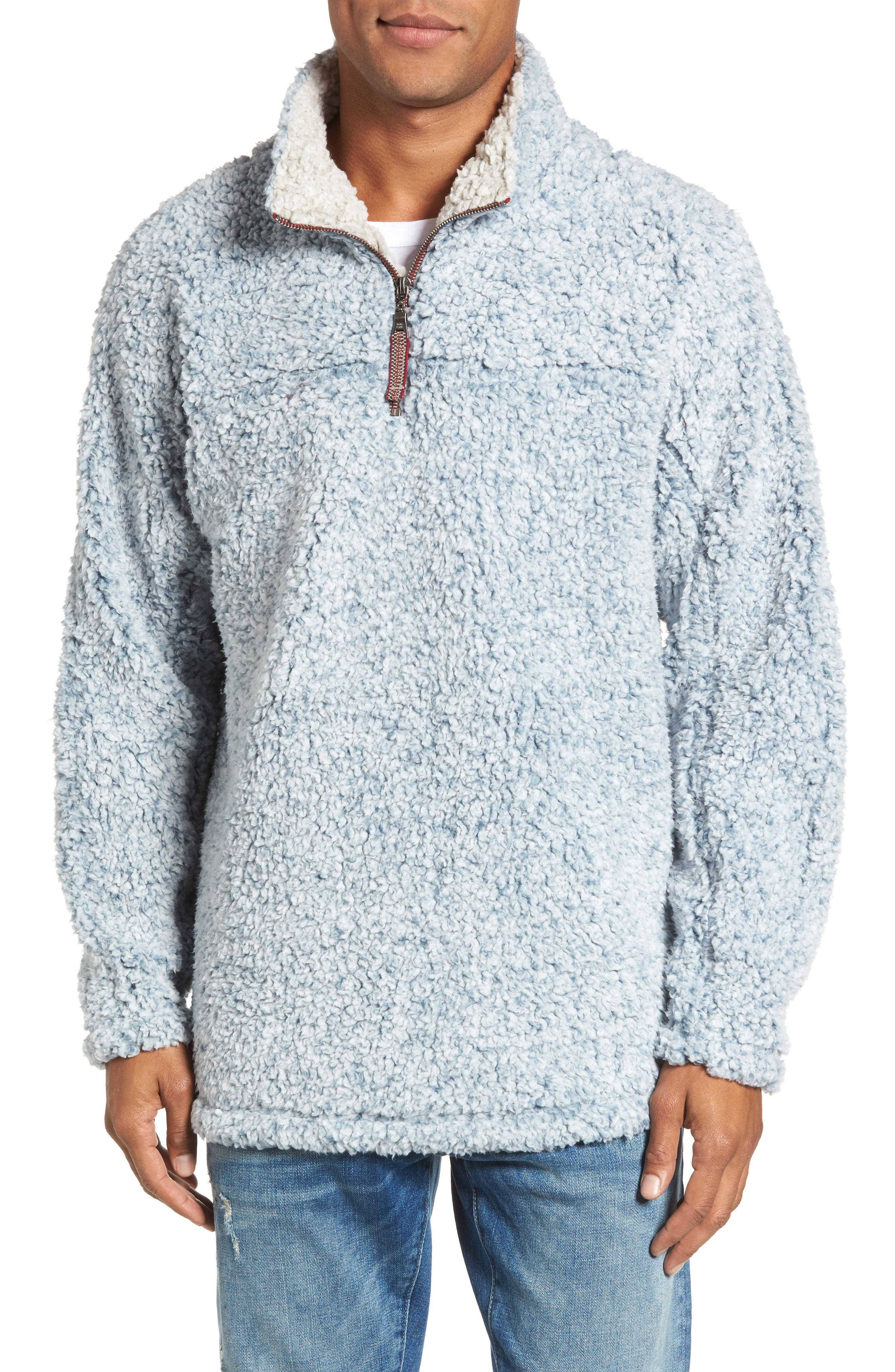 ,                             Frosty Tipped Quarter Zip Pullover,                             Main thumbnail 36, color,                             425