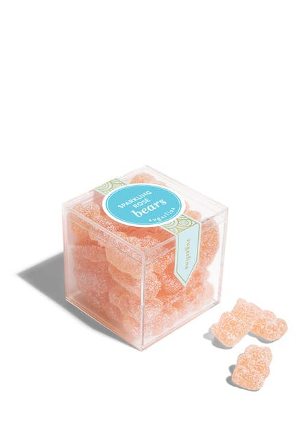 Image of SUGARFINA Sparkling Rose Bears - Small Cube 3-Piece Kit