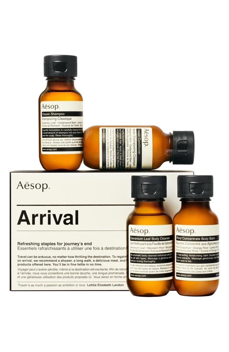 AESOP Arrival Travel Kit, Main, color, NO COLOR