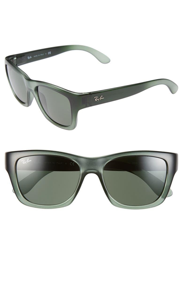 RAY-BAN 53mm Sunglasses, Main, color, 300