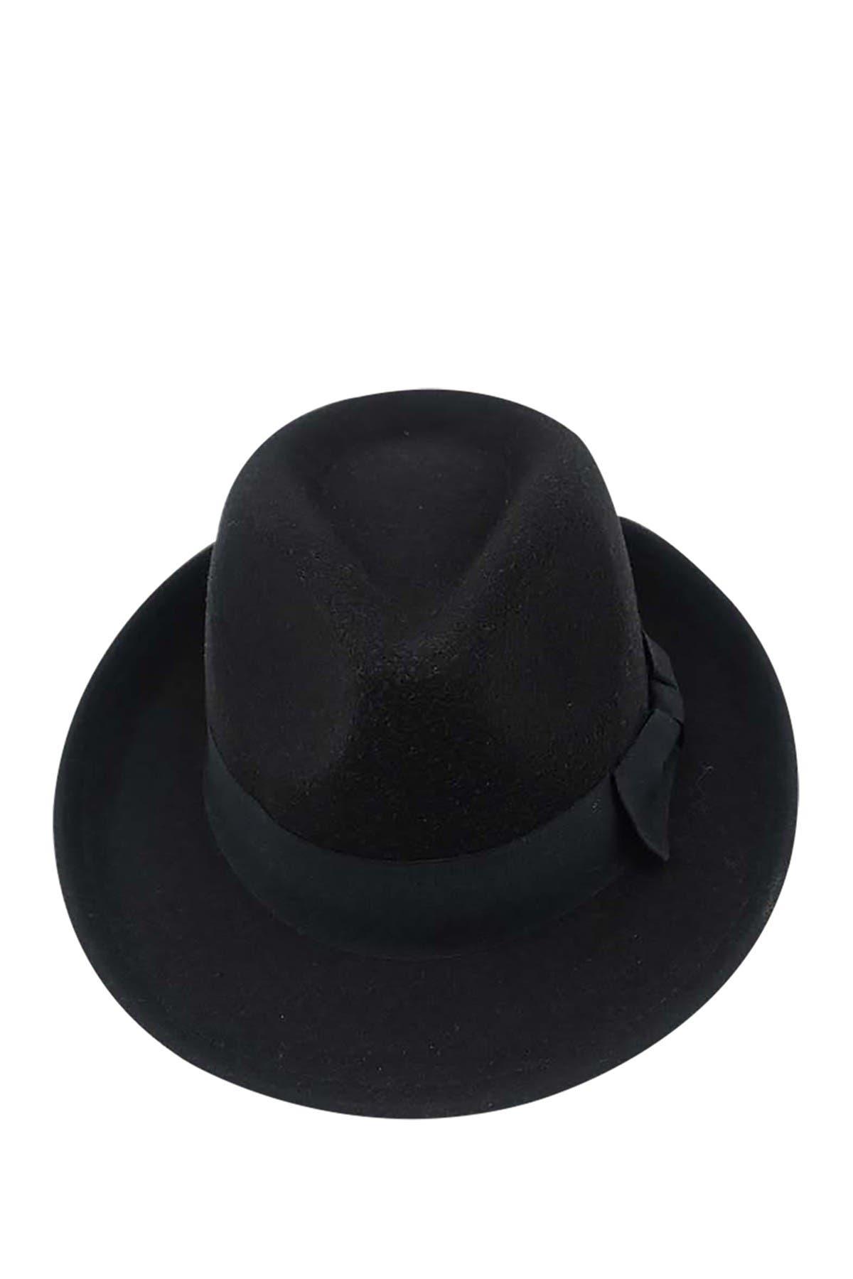 Image of Peter Grimm Headwear Bugsy Felt Fedora