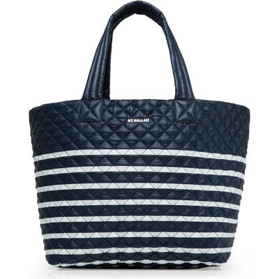 Mz Wallace Large Metro Tote - Blue (Nordstrom Exclusive)
