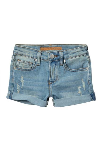 Image of Joe's Jeans Mid Rise Cuff Denim Shorts