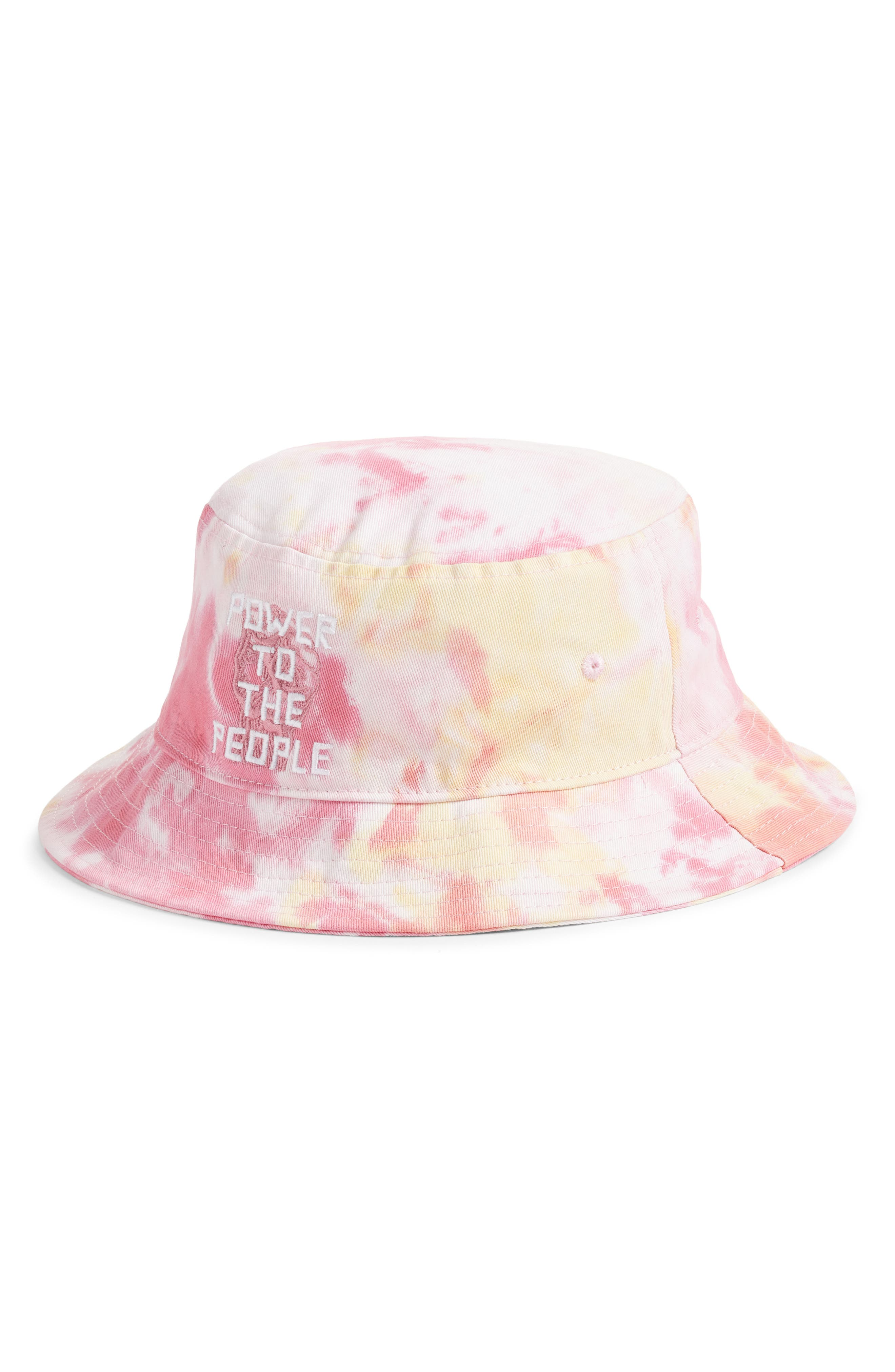 Power To The People Bucket Hat
